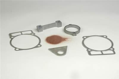 ARCUT Beispiele wasserstrahlgeschnittener Werkstücke aus Stahl und Edelstahl